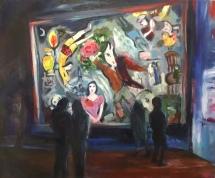 Viewing Chagall at MMFA